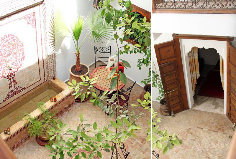 Внутренний дворик в арабском стиле | Дизайн и стиль интерьера квартиры, дома, офиса от «Artinterior», Киев, artinterior.com.ua