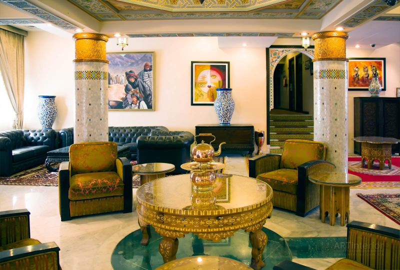 Арабский стиль в интерьере | Дизайн и стиль интерьера квартиры, дома, офиса от «Artinterior», Киев, artinterior.com.ua