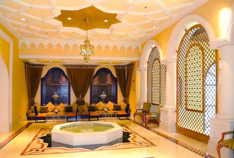Арабская архитектура | Дизайн и стиль интерьера квартиры, дома, офиса от «Artinterior», Киев, artinterior.com.ua