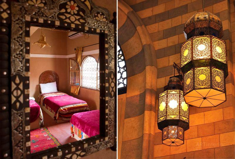 Арабские зеркала и лампы | Дизайн и стиль интерьера квартиры, дома, офиса от «Artinterior», Киев, artinterior.com.ua