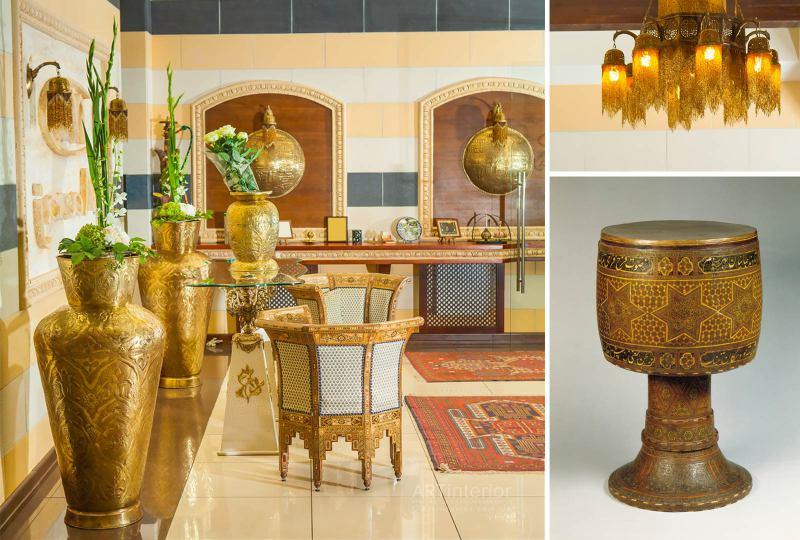 Арабский декор в интерьре | Дизайн и стиль интерьера квартиры, дома, офиса от «Artinterior», Киев, artinterior.com.ua