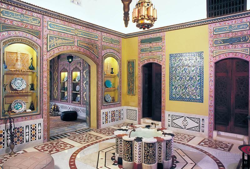 Яркие цвета в арабском интерьере | Дизайн и стиль интерьера квартиры, дома, офиса от «Artinterior», Киев, artinterior.com.ua