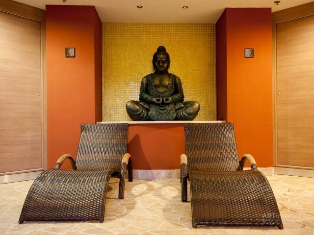 Статуя Будды | Дизайн и стиль интерьера квартиры, дома, офиса от «Artinterior», Киев, artinterior.com.ua