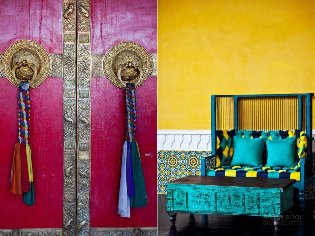 Яркие индийский цвета | Дизайн и стиль интерьера квартиры, дома, офиса от «Artinterior», Киев, artinterior.com.ua