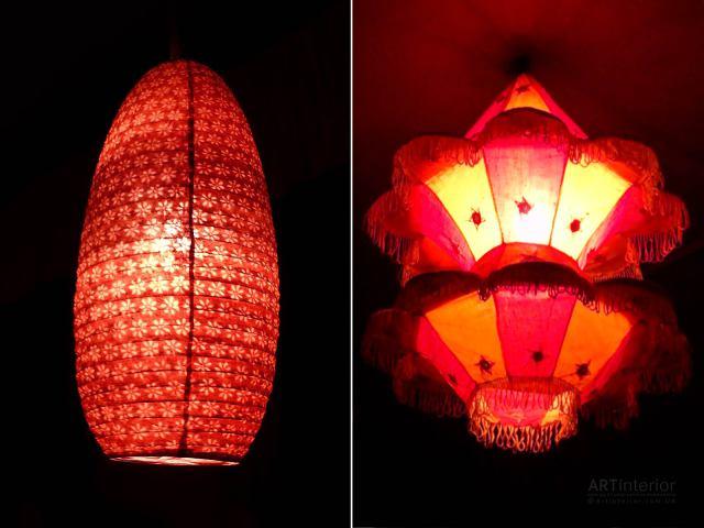 Индийские лампы | Дизайн и стиль интерьера квартиры, дома, офиса от «Artinterior», Киев, artinterior.com.ua