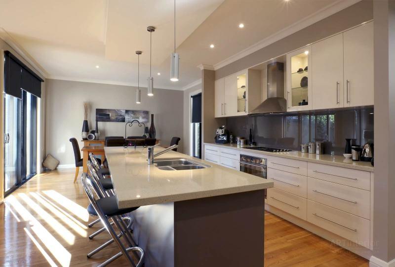 современная кухня с барной стойкой | Дизайн и стиль интерьера квартиры, дома, офиса от «Artinterior», Киев, artinterior.com.ua