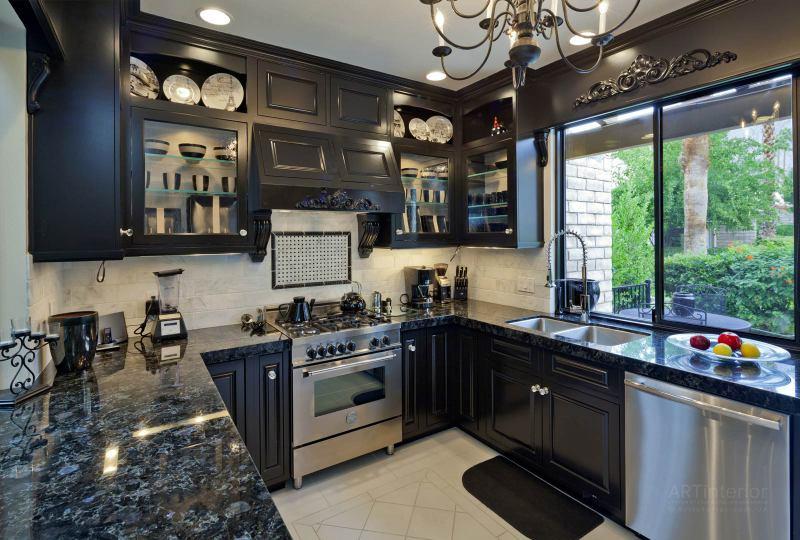 кухня в доме | Дизайн и стиль интерьера квартиры, дома, офиса от «Artinterior», Киев, artinterior.com.ua