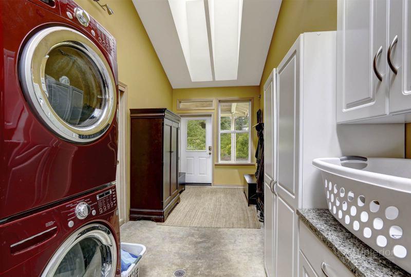 вертикальная установка, стиральная машина | Дизайн и стиль интерьера квартиры, дома, офиса от «Artinterior», Киев, artinterior.com.ua