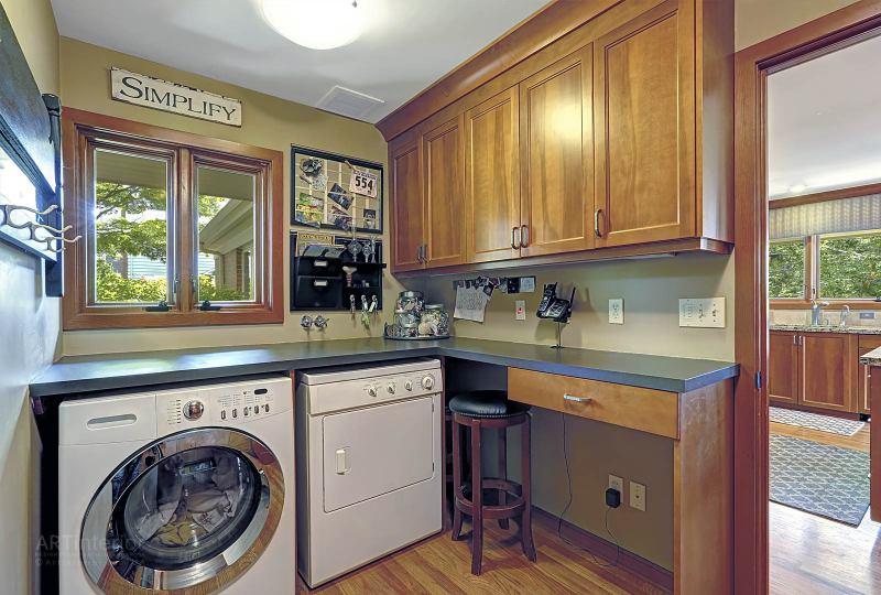 прачечная-постирочная совмещенная с кабинетом | Дизайн и стиль интерьера квартиры, дома, офиса от «Artinterior», Киев, artinterior.com.ua