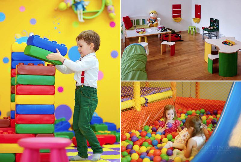 Дизайн интерьера детской и игровой