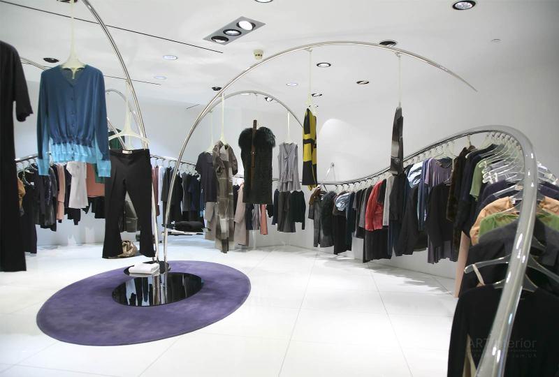 бутик одежды | Дизайн и стиль интерьера квартиры, дома, офиса от «Artinterior», Киев, artinterior.com.ua