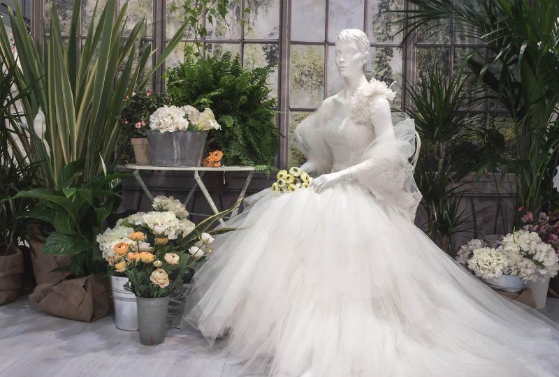 элитный салон свадебных платьев | Дизайн и стиль интерьера квартиры, дома, офиса от «Artinterior», Киев, artinterior.com.ua