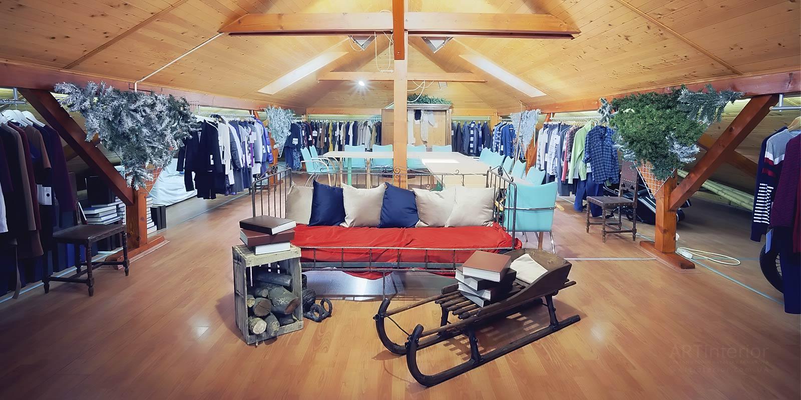 шоу-рум модной одежды | Дизайн и стиль интерьера квартиры, дома, офиса от «Artinterior», Киев, artinterior.com.ua