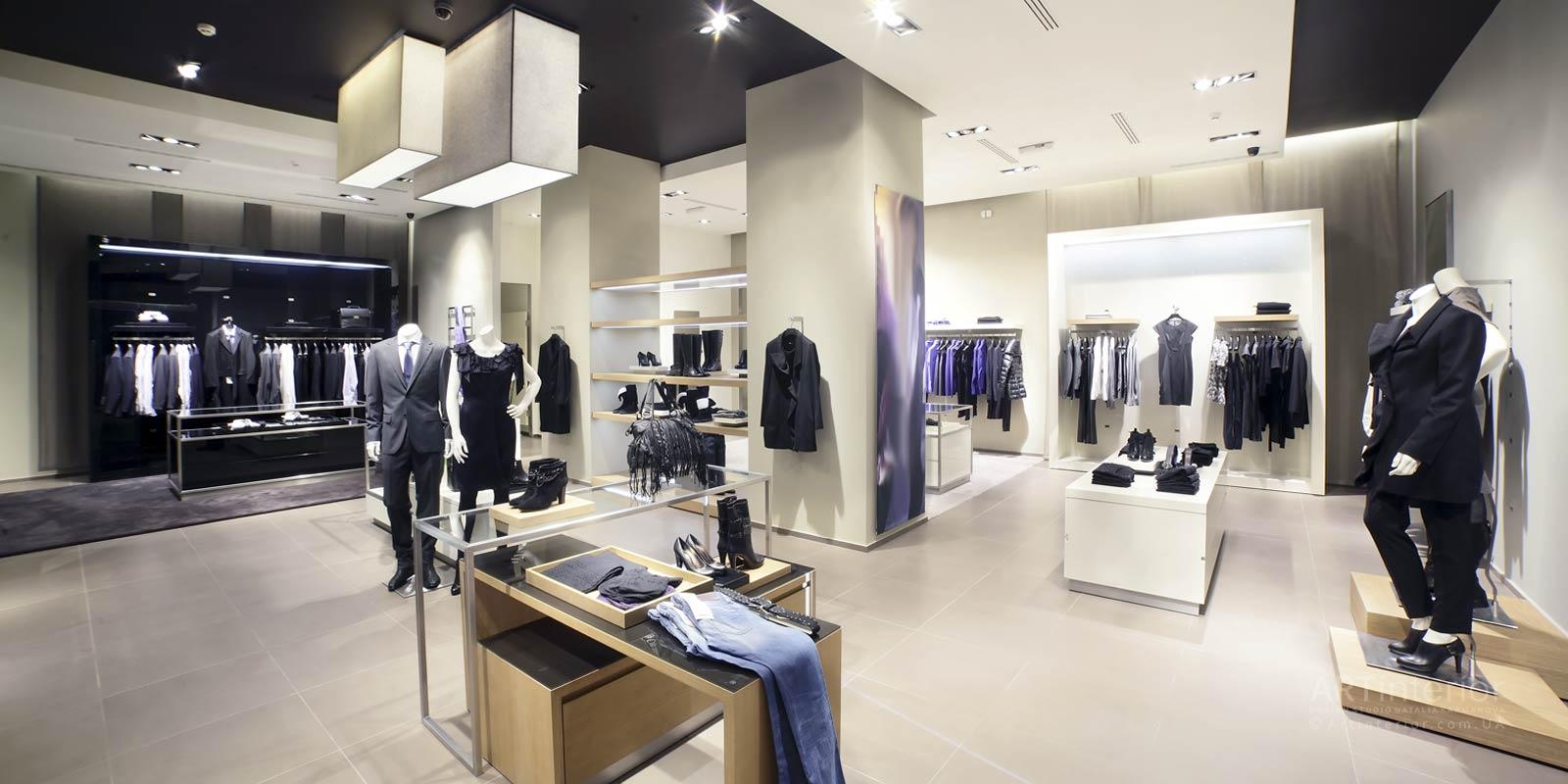 магазин классиической одежды | Дизайн и стиль интерьера квартиры, дома, офиса от «Artinterior», Киев, artinterior.com.ua