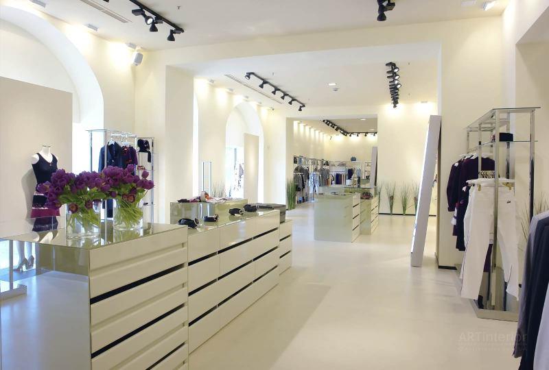 магазин элитной одежды | Дизайн и стиль интерьера квартиры, дома, офиса от «Artinterior», Киев, artinterior.com.ua