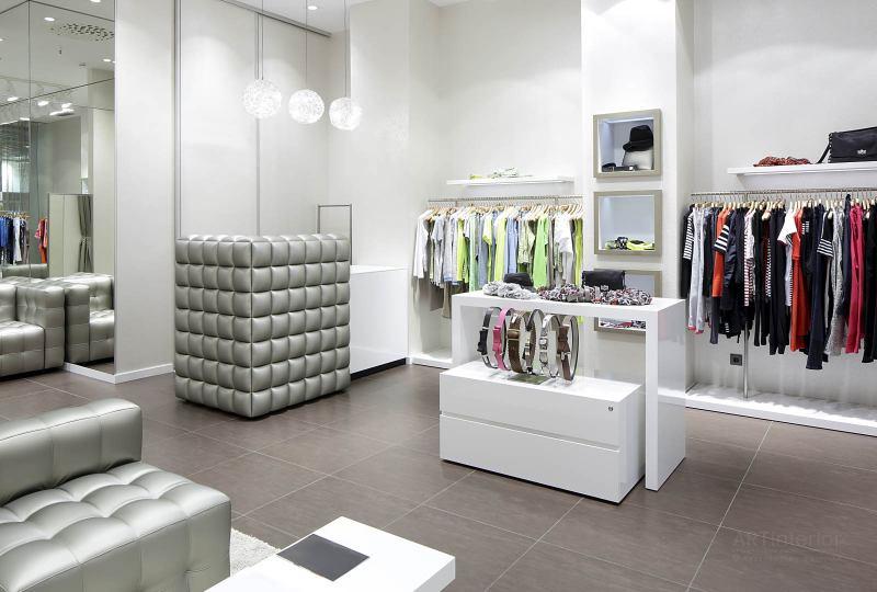 магазин-бутик одежды | Дизайн и стиль интерьера квартиры, дома, офиса от «Artinterior», Киев, artinterior.com.ua