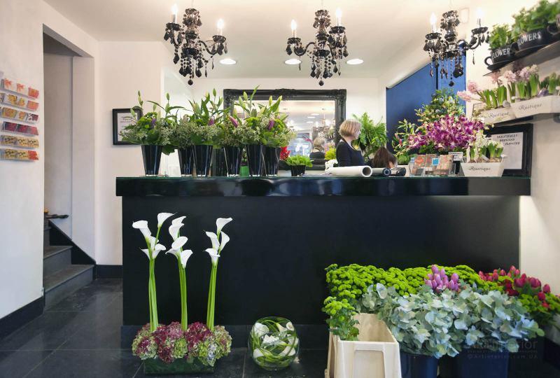 цветочный магазин | Дизайн и стиль интерьера квартиры, дома, офиса от «Artinterior», Киев, artinterior.com.ua