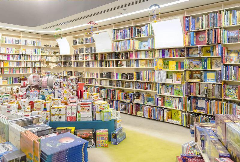книжный магазин | Дизайн и стиль интерьера квартиры, дома, офиса от «Artinterior», Киев, artinterior.com.ua