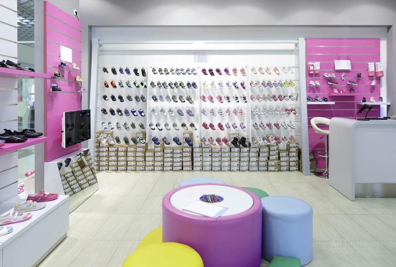 детский магазин обуви | Дизайн и стиль интерьера квартиры, дома, офиса от «Artinterior», Киев, artinterior.com.ua