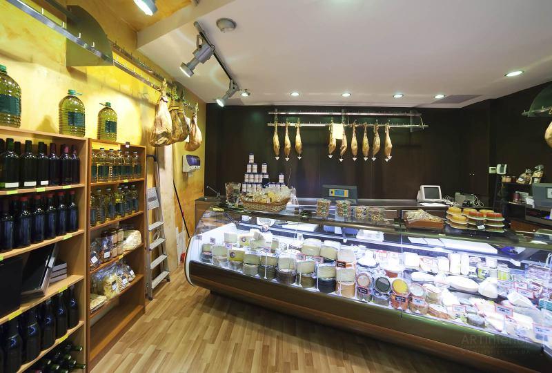 испанский магазин бакалеи, сыров | Дизайн и стиль интерьера квартиры, дома, офиса от «Artinterior», Киев, artinterior.com.ua