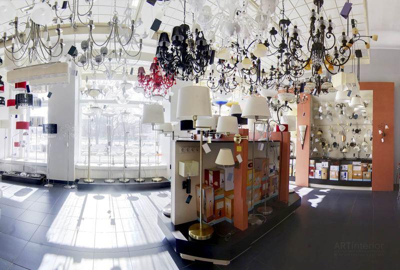 магазин осветительных приборов, магазин света-освещения | Дизайн и стиль интерьера квартиры, дома, офиса от «Artinterior», Киев, artinterior.com.ua